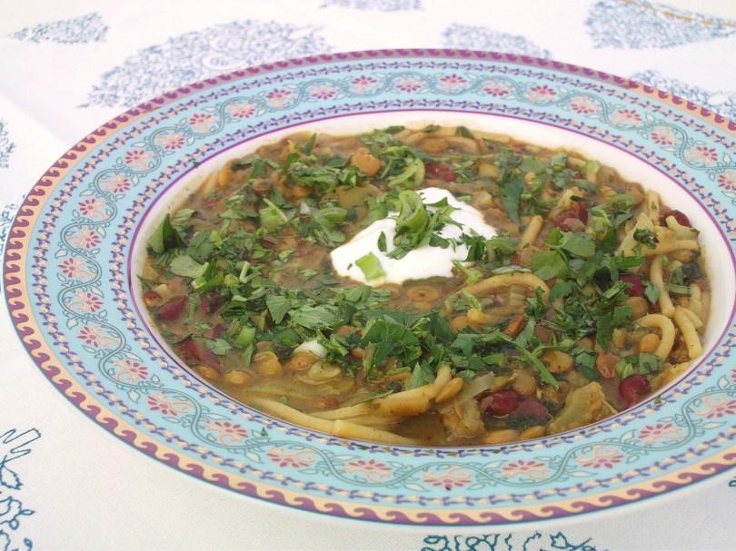 Persian Lentil & Herb Soup