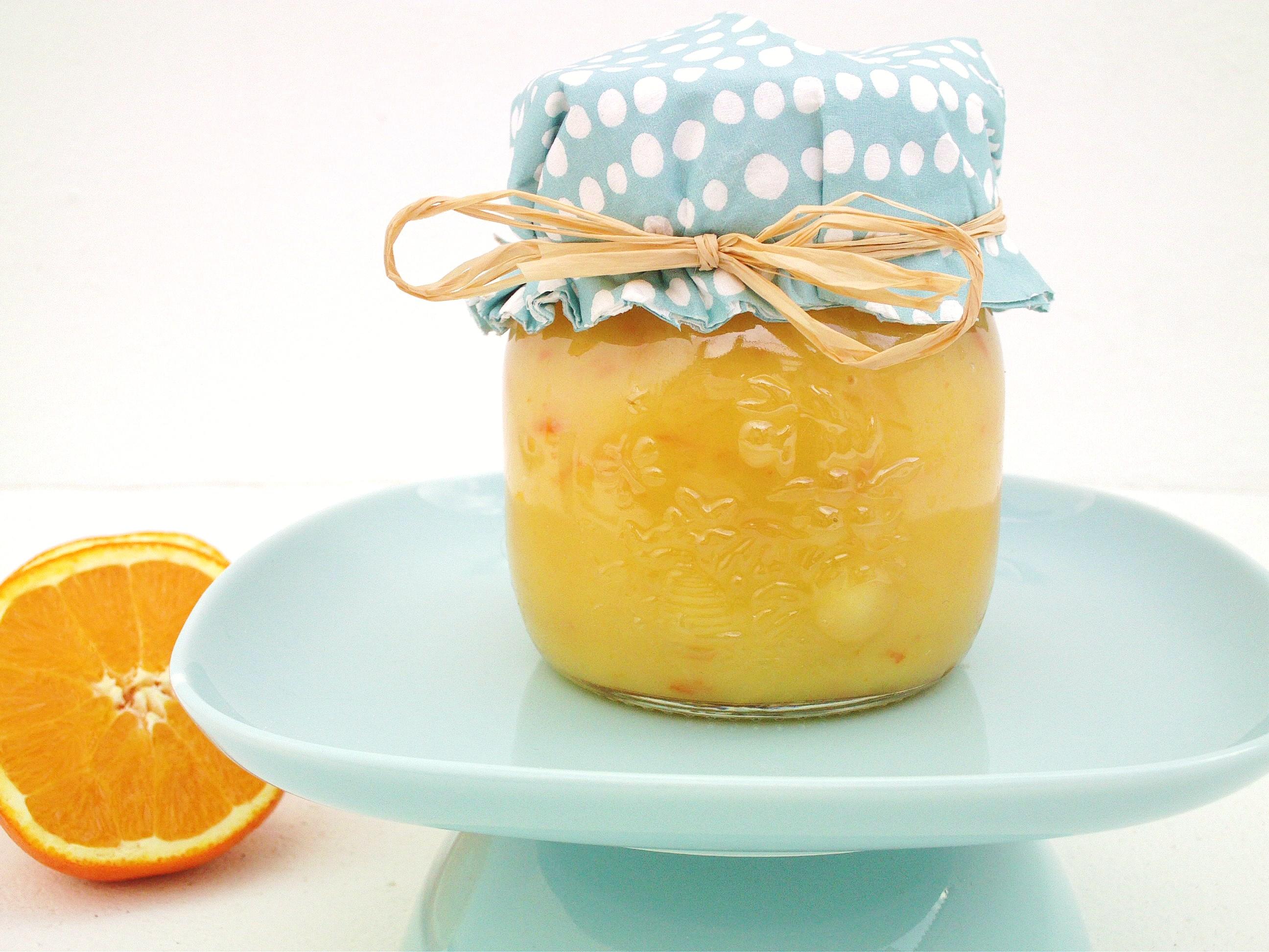 Orange Curd and Little Tarts | Cook Eat Live Vegetarian