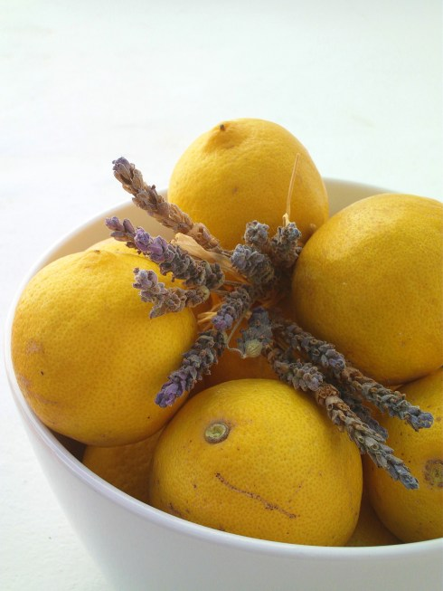 Lavender, Lemon and Honey Soft Oat Bars