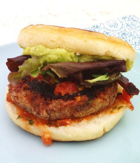 Brazilian Bean Burger