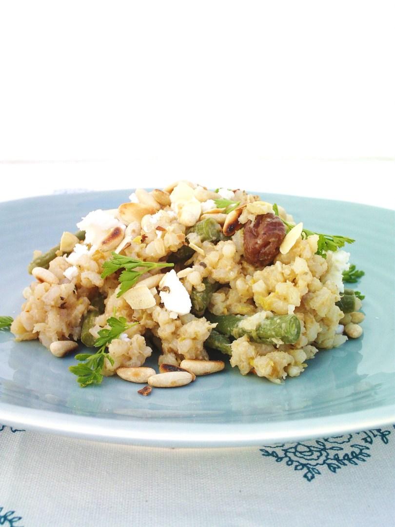 Green Bean Pilaf