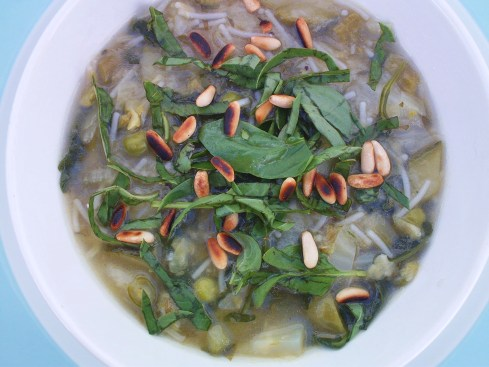 Green Minestrone Top