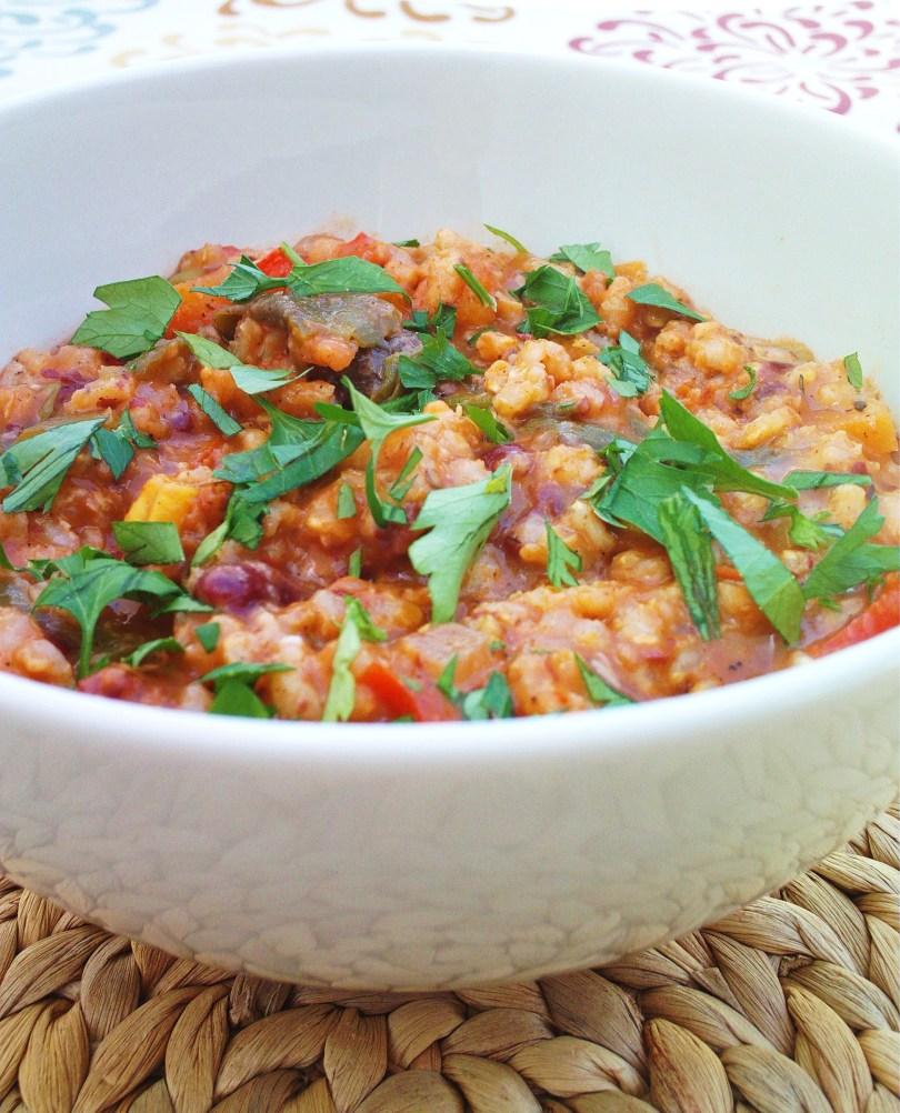 Jollof Rice Bowl | Cook Eat Live Vegetarian