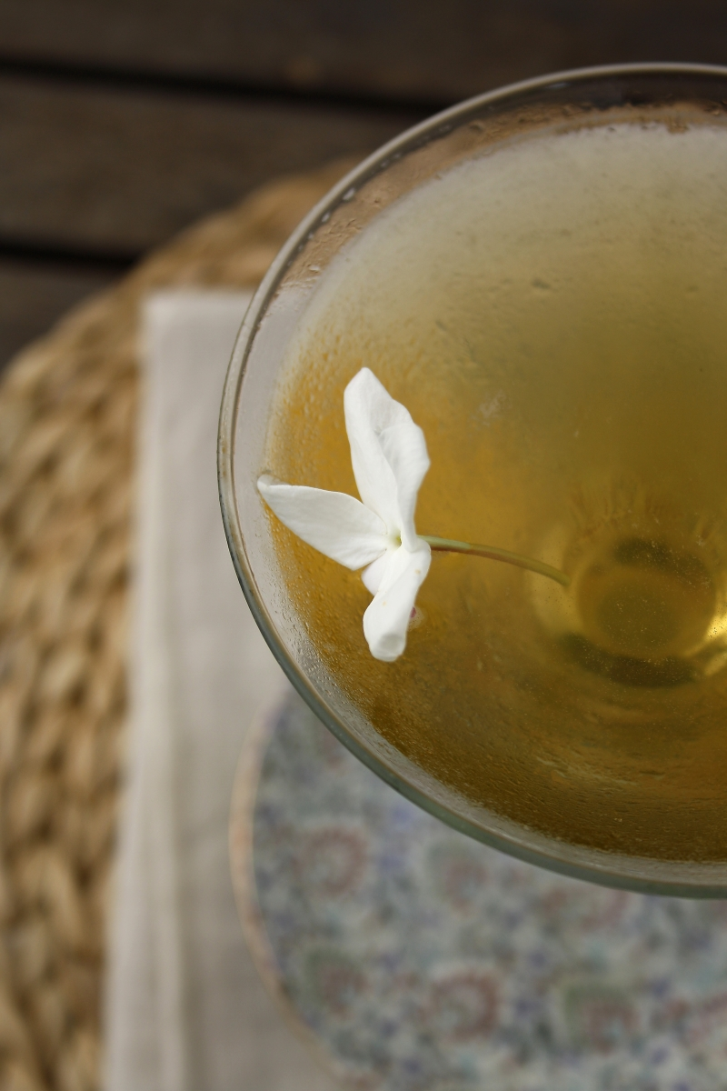 Golden Jasmine Martini