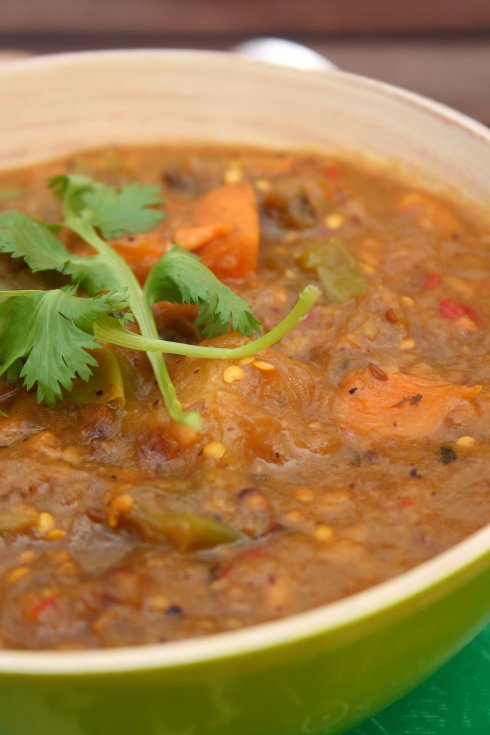 Martinique Sweet Potato Curry