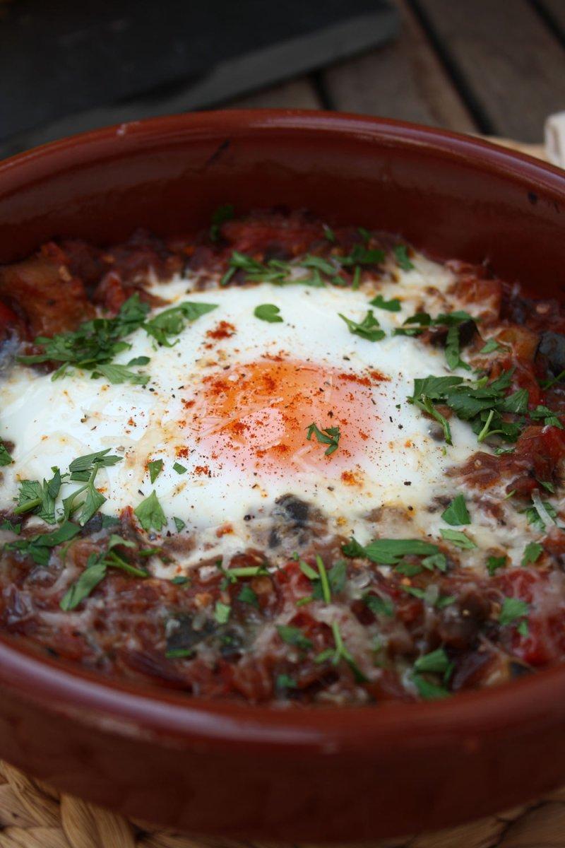 Pisto Con Huevos - A Rustic Spanish Classic
