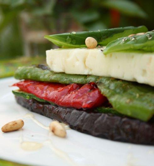"Chargrilled Vegetable & Feta ""Sandwich"""