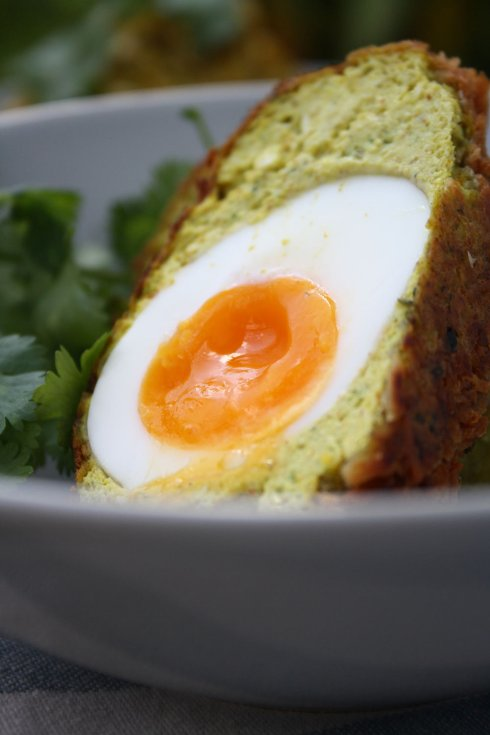 Vegetarian Scotch Egg