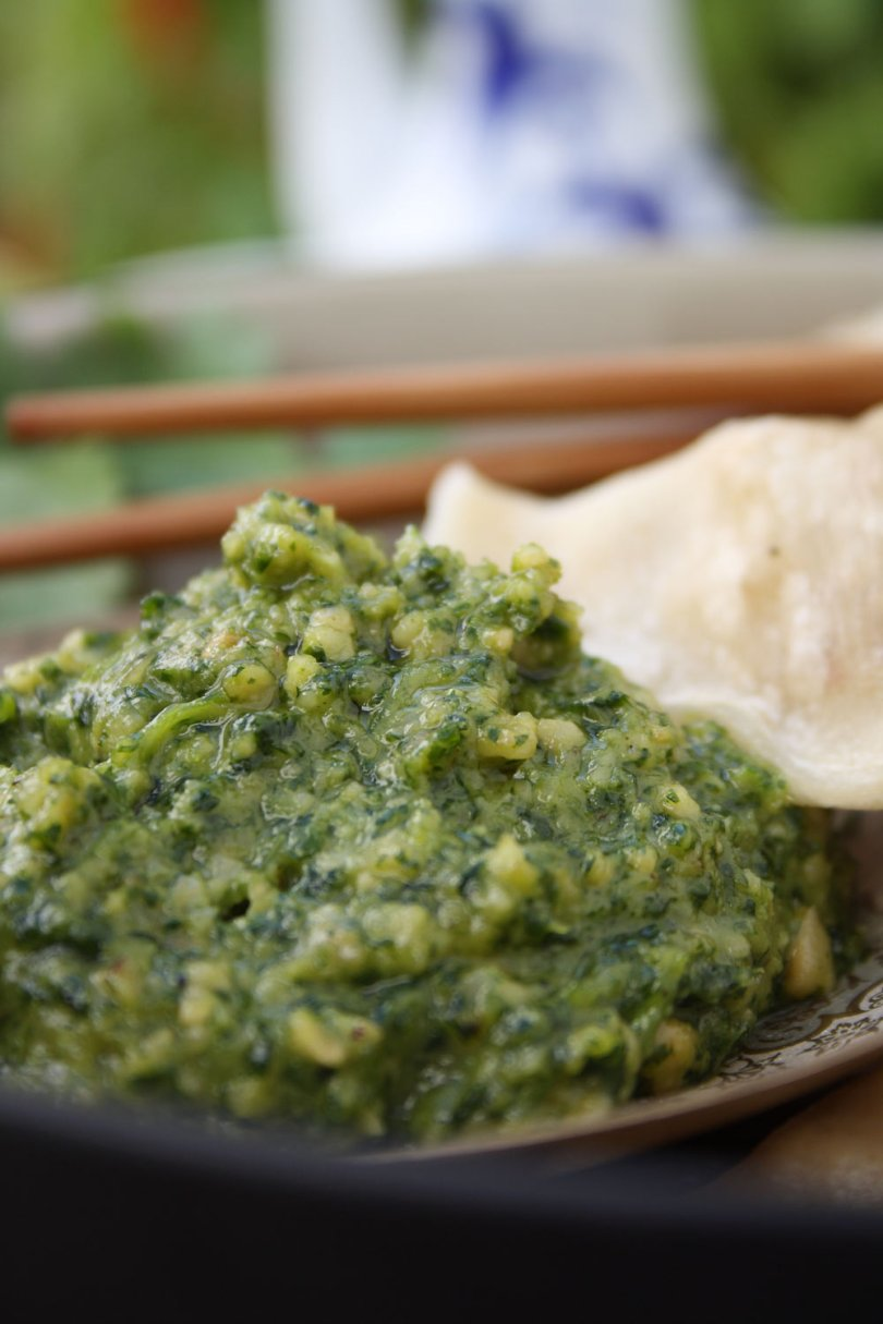 Asian Coriander & Cashew Nut Pesto