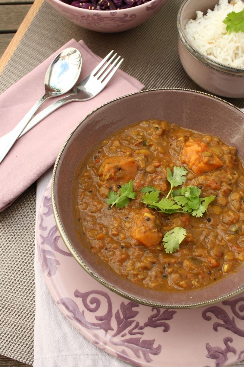 Sweet Potato Dhal