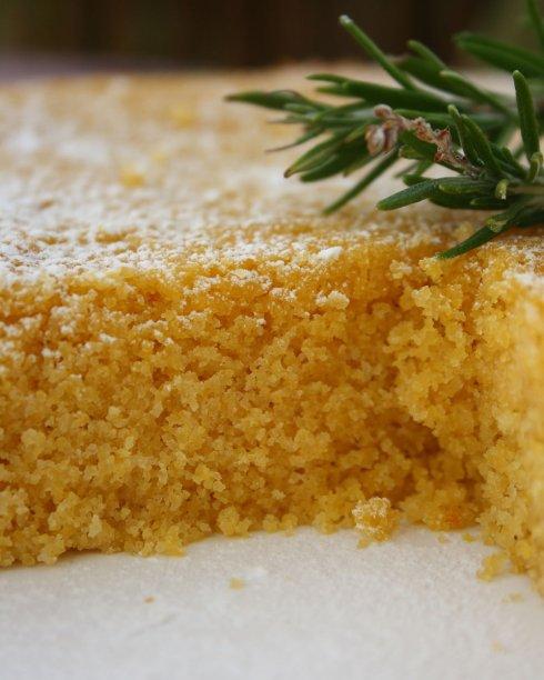 Lemon Polenta Olive Oil Cake   Cook Eat Live Vegetarian
