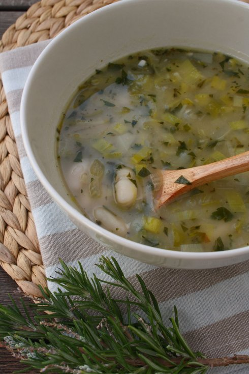Leek & White Bean Soup