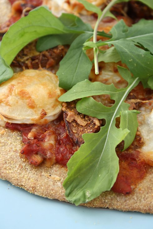 Goat Cheese & Fig Spelt Pizza