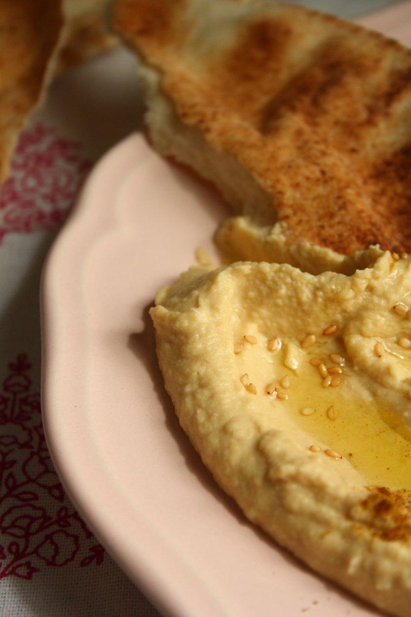 Hummus & Flatbread | Cook Eat Live Vegetarian