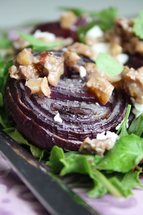 Red Onion & Walnut Salad