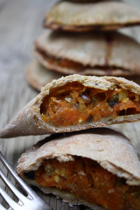 Moroccan Squash & Feta Empanadas
