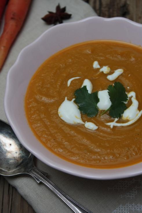 Carrot Orange & Ginger Soup