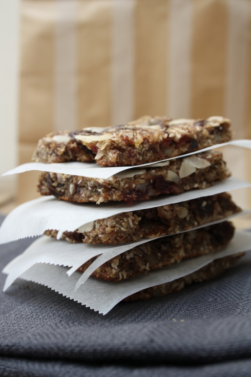 Chewy Fruit & Nut Muesli Bars