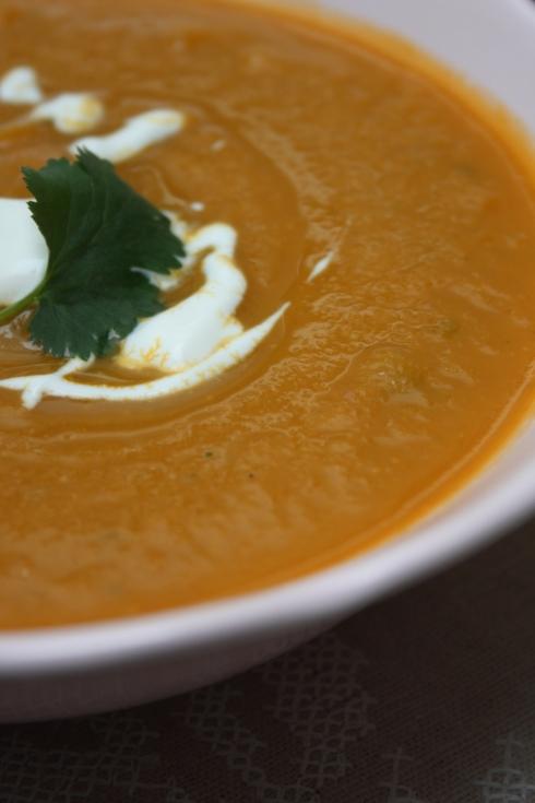 Carrot Ginger & Orange Soup