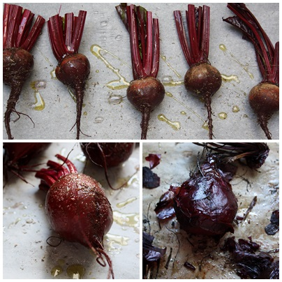 Roasting Beetroot